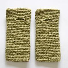 wrist worms crochet pattern
