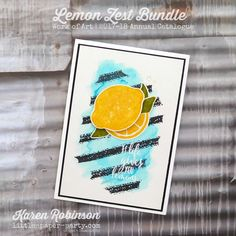 Little Paper Party, Lemon Zest Bundle, Work of Art, Karen Robinson, Lemon, Paper, Artwork, Projects, Cards, Log Projects, Work Of Art, Blue Prints
