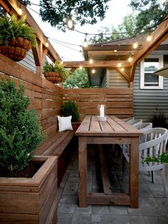 Small Backyard Design, Backyard Patio Designs, Small Backyard Landscaping, Backyard Fences, Backyard For Kids, Oasis Backyard, Patio Ideas, Modern Backyard, Back Yard Oasis