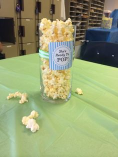 Ready to POP baby shower centerpieces