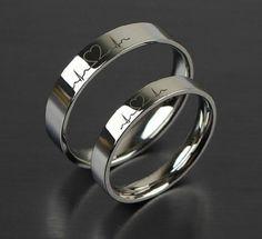 1pcs Free Engraving Purple Titanium rings sets, Love Token Couple Wedding rings,Titanium Ring, Couples Rings,Wedding ring,Promise ring,ECG Ring,Wedding band,his and her wedding ring sets = 1929698052