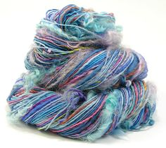 Handspun Yarn Art Yarn Weaving Yarn Knitting Artisan Yarn