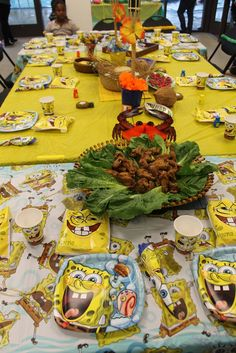 Birthday- Spongebob Square Pants