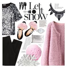 """Let it Snow"" by asya-1 ❤ liked on Polyvore featuring Chicnova Fashion, H&M, Chanel, MICHAEL Michael Kors, Lane Bryant, Bionda Castana and BERRICLE"