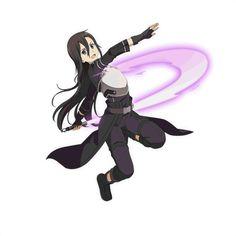[Sword Art Online Art Official]-Kirito! Online Anime, Online Art, Sao Underworld, Kirito Sao, Kirito Kirigaya, Anime Traps, Naruto, Sword Art Online Kirito, Manga Anime