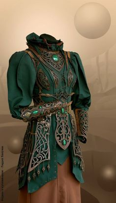 This makes me think of a female version of a Loki cosplay, but I love it whatever it really is....