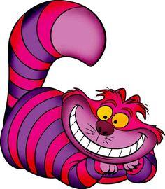 Imágenes del Cheshire cat para los juegos