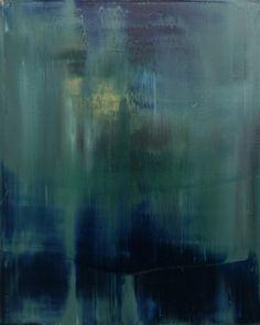 Koen Lybaert - abstract N° 669 - oil on canvas [100 x 80 x 4] / 2013