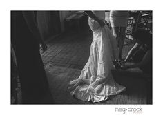Philadelphia Terrain Wedding, Wedding Dress, Meg Brock Photography, Madison James, Bride, Getting Ready