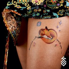Tan gráfico y conceptual como quieras. | 19 Tatuajes para llevar tu amor por El Principito en la piel