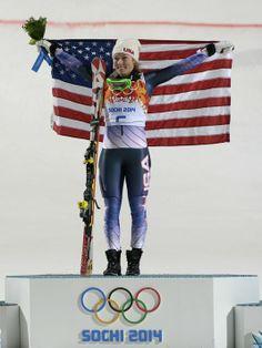 Mikaela Shiffrin <3 love her .. incredible 20 years old ski racer!