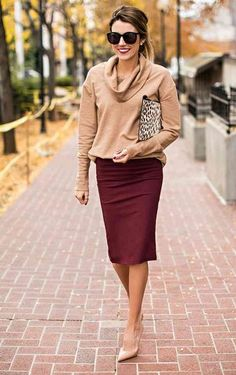 work office outfit pencil skirt hello fashion