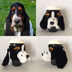 Any Basset Hound mom would just love this handmade, one of a kind item. Just imagine what a fun conversation piece this would be for any home or office. This is one of my favorite designs because their ears are so adorable!  Dogs come into our lives and leave paw prints on our hearts. It would also be the most thoughtful, unique gift for someone coping with the loss of a pet.  The cozy slides up your travel mug for a snug fit around the middle. It will stretch to fit most cup sizes. The…