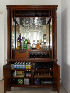 Now This Is A Liquor Cabinet My Next Project