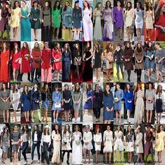 Kate the duchess of Cambridge: What's Kate favourite Color?? Let's check out her 62 most famous outfits