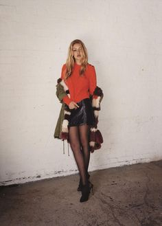 Gigi Hadid's fall Topshop campaign has lots of good fall outfit ideas - see more pics by clicking here.