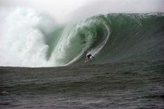 Surfing in Ireland rocks!