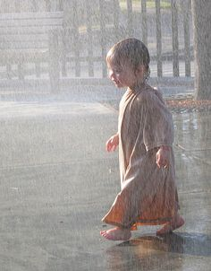 Can you remember when you enjoyed the rain like this? I can and I am 77 years old...