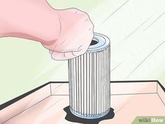 How to Clean a Cartridge Type Swimming Pool Filter. Swimming pools can be a lot of fun, especially when the weather is warm. However, pools with filters do require some maintenance. For those who want a pool but also want to save some. Swimming Pool Filters, Above Ground Swimming Pools, Homemade Pools, Pool Hacks, Pool Ladder, Pool Steps, Pool Care, Diy Pool, Summer Pool