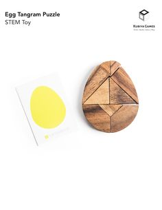 The Egg Tangram puzzle set is a wonderful mathematical game that helps build critical thinking skills and understanding of geometry, making this a perfect puzzle/game for all ages and skill levels. Mathematics Games, Tangram Puzzles, Different Birds, Critical Thinking Skills, Brain Teasers, Geometric Shapes, Geometry, Challenges, Cards