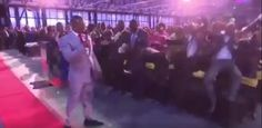 WATCH: Prophet Bushiri uses his powers to send congregants flying Speaking In Tongues, Money Laundering, Leap Of Faith, Private Jet, He Is Able, Front Row, Acting, The Incredibles, Social Media