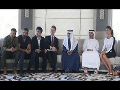 DISHOOM starcast John Abraham, Varun Dhawan & Jacqueline Fernandez in Abu Dhabi.