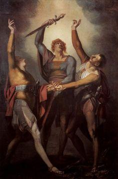'The Oath on the Ruttli' - Henry Fuseli.