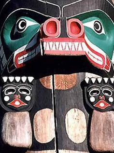 Totem Poles, Pacific Northwest