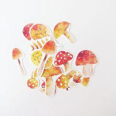『野菇童話』貼紙組