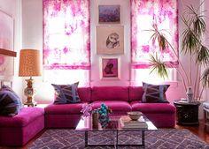 Shocking pink! Love it...