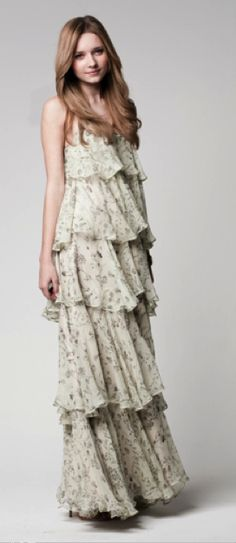 perfect dress for a summer or spring wedding