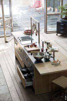 cuisine : les tendances aménagement et déco | open kitchens