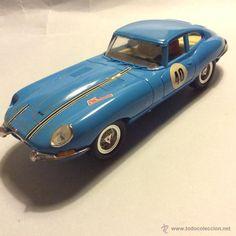Scalextric Exin jaguar e tipe azul - Foto 1