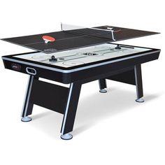 "EastPoint Sports 80"" NHL Air Powered Hockey with Table Tennis Top - Walmart.com"