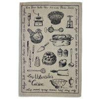 Les Fromages Linen Kitchen Towel | Sur La Table