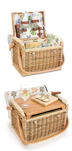 Picnic Basket хочу в подарок супер навороченную корзину для пикника!