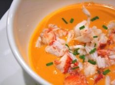 Lobster (or Shrimp) Bisque from http://www.justapinch.com/recipes/soup/fish-soup/lees-lobster-bisque.html?utm_source=spop&utm_medium=email&utm_campaign=Whats%20Cookin%202012%20-%20March%202%20(1)&utm_content=
