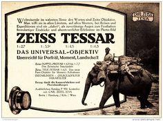 Original-Werbung/ Anzeige 1925 - ZEISS TESSAR OBJEKTIV / CARL ZEISS JENA/ MOTIV…