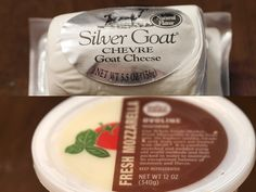 SILVER GOAT....Silver Goat Chevre Cheese