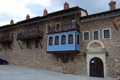 Kloster Moni Megalis Mansions, House Styles, Home Decor, Decoration Home, Manor Houses, Room Decor, Villas, Mansion, Home Interior Design