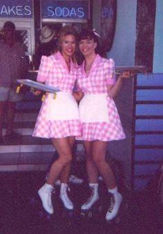 Rollerblades waitress