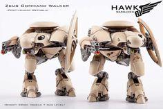 Dropzone Commander Post-Human Republic: Zeus Command Walkers (2)