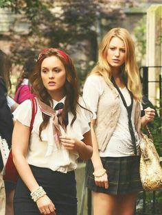 Blair and Serina - Gossip Girl
