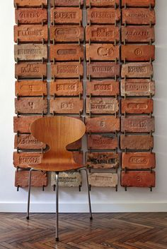 cool idea for a wall