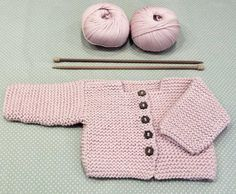 Baby Cardigan Making erzählt und illustriert - Farbe Site Baby Knitting Patterns, Baby Cardigan Knitting Pattern, Knitted Baby Cardigan, Knit Baby Sweaters, Toddler Sweater, Knitting For Kids, Baby Patterns, Crochet Patterns, Crochet Baby Jacket