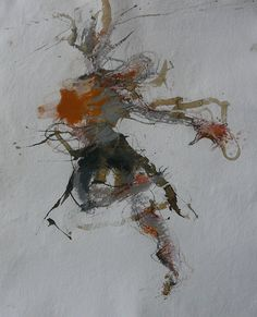 Caroline Deane, Leap of faith3, Mixed Media