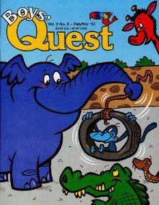 Boys Quest  Order at http://www.amazon.com/Boys-Quest/dp/B00007AVQZ/ref=zg_bs_602322_29?tag=bestmacros-20