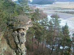 Markušovce - skalný hríb,Slovensko