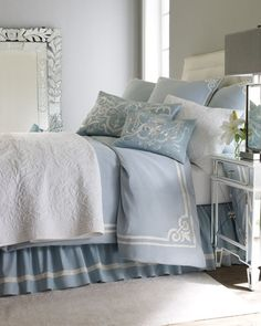 Oceanus Bed Linens by Pine Cone Hill
