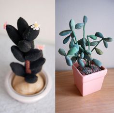 stuffed plants - for those of us who are challenged in the green thumb department